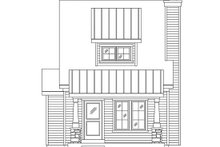 House Plan Design - Bungalow Exterior - Front Elevation Plan #22-598