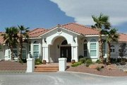Mediterranean Style House Plan - 4 Beds 3 Baths 2861 Sq/Ft Plan #1-700 Exterior - Front Elevation