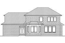 Craftsman Exterior - Rear Elevation Plan #46-835