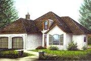 European Style House Plan - 3 Beds 2 Baths 1758 Sq/Ft Plan #15-115