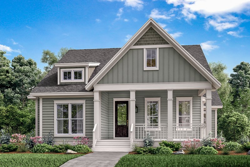 Dream House Plan - Traditional Exterior - Front Elevation Plan #430-146