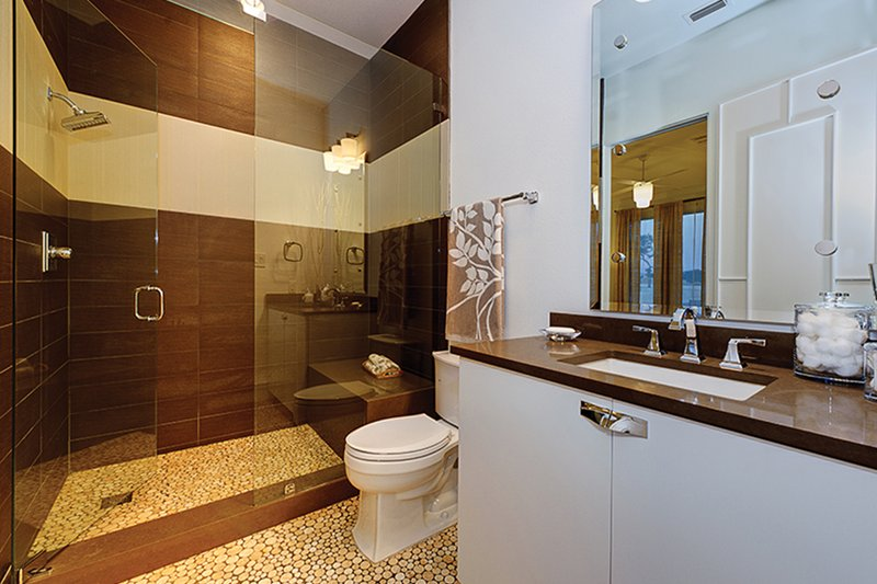 Contemporary Interior - Bathroom Plan #935-5 - Houseplans.com