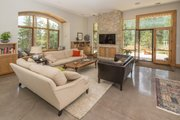 Contemporary Style House Plan - 3 Beds 3.5 Baths 3620 Sq/Ft Plan #1042-21 Interior - Family Room