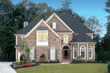 House Plan Design - Mediterranean Exterior - Front Elevation Plan #927-639