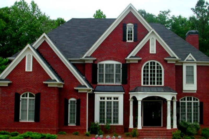 Traditional Exterior - Front Elevation Plan #54-128 - Houseplans.com