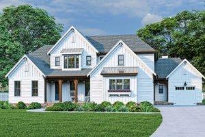 Farmhouse Exterior - Front Elevation Plan #927-1025