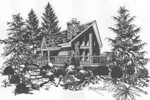Bungalow Exterior - Front Elevation Plan #329-139