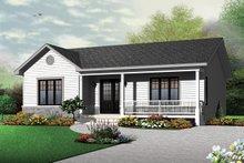 House Plan Design - Ranch Exterior - Front Elevation Plan #23-2662