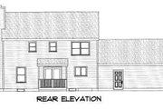 Colonial Style House Plan - 3 Beds 2.5 Baths 1788 Sq/Ft Plan #75-101