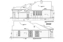 Dream House Plan - European Exterior - Other Elevation Plan #3-250