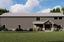 House Plan Design - Farmhouse Exterior - Front Elevation Plan #1064-100