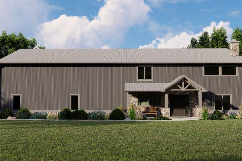 Dream House Plan - Farmhouse Exterior - Front Elevation Plan #1064-100