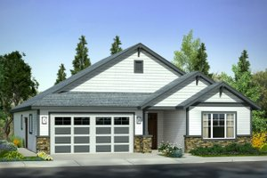 Traditional Exterior - Front Elevation Plan #124-1007