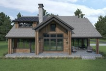 Craftsman Exterior - Rear Elevation Plan #1070-105