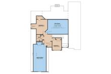 European Floor Plan - Upper Floor Plan Plan #923-31