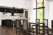 Ranch Style House Plan - 3 Beds 3 Baths 1631 Sq/Ft Plan #1075-1 Interior - Dining Room