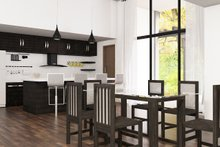 Architectural House Design - Ranch Interior - Dining Room Plan #1075-1