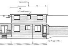 Traditional Exterior - Rear Elevation Plan #94-217