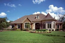 Dream House Plan - Country Exterior - Front Elevation Plan #46-740