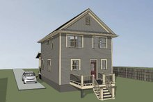House Plan Design - Bungalow Exterior - Other Elevation Plan #79-261
