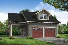 Craftsman Exterior - Front Elevation Plan #124-932