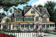 House Design - Country Exterior - Front Elevation Plan #927-37