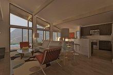 Ranch Interior - Family Room Plan #489-1
