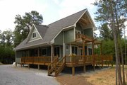 Cabin Style House Plan - 3 Beds 2 Baths 1370 Sq/Ft Plan #118-113 Photo
