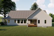 Craftsman Style House Plan - 3 Beds 2.5 Baths 2135 Sq/Ft Plan #455-215 Exterior - Rear Elevation