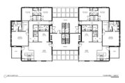 Modern Style House Plan - 3 Beds 2.5 Baths 4520 Sq/Ft Plan #535-15 Floor Plan - Main Floor Plan