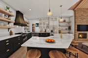 Contemporary Style House Plan - 3 Beds 2.5 Baths 2448 Sq/Ft Plan #48-987 Interior - Kitchen