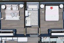 Home Plan - Cottage Interior - Bedroom Plan #44-247