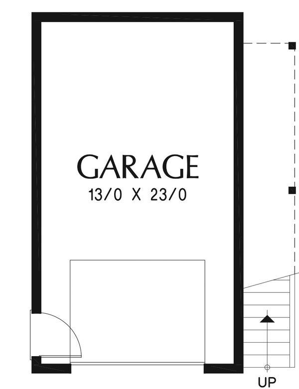 Modern Floor Plan - Main Floor Plan Plan #48-934