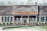 Ranch Style House Plan - 3 Beds 2 Baths 1624 Sq/Ft Plan #54-145