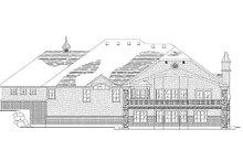 Home Plan - European Exterior - Rear Elevation Plan #5-315