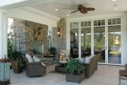 Classical Style House Plan - 0 Beds 1 Baths 709 Sq/Ft Plan #132-224 Photo
