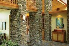 House Design - Ranch Interior - Entry Plan #48-433