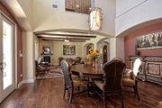 Mediterranean Style House Plan - 5 Beds 4 Baths 3585 Sq/Ft Plan #80-221 Interior - Dining Room