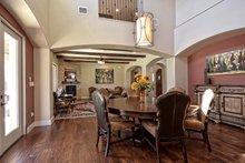Home Plan - Mediterranean Interior - Dining Room Plan #80-221