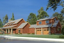 House Plan Design - Country Exterior - Other Elevation Plan #923-195