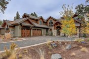 Craftsman Style House Plan - 5 Beds 5.5 Baths 4964 Sq/Ft Plan #892-27 Exterior - Front Elevation