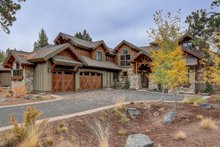 Craftsman Exterior - Front Elevation Plan #892-27