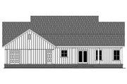 Farmhouse Style House Plan - 3 Beds 2 Baths 1800 Sq/Ft Plan #21-451 Exterior - Rear Elevation