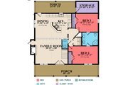 Log Style House Plan - 3 Beds 2.5 Baths 2319 Sq/Ft Plan #63-280 Floor Plan - Main Floor Plan