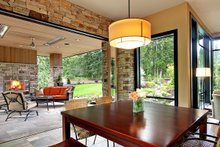 Modern Exterior - Covered Porch Plan #132-221