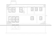 Modern Style House Plan - 2 Beds 1.5 Baths 1340 Sq/Ft Plan #914-5 Exterior - Other Elevation