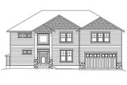 Traditional Style House Plan - 3 Beds 2.5 Baths 3092 Sq/Ft Plan #133-108 Exterior - Other Elevation