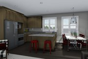 Ranch Style House Plan - 3 Beds 2 Baths 1635 Sq/Ft Plan #1060-42 Interior - Kitchen