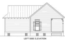 House Plan Design - Cottage Exterior - Other Elevation Plan #45-334
