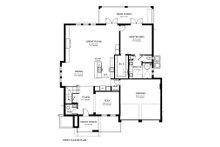 Contemporary Floor Plan - Main Floor Plan Plan #1058-180